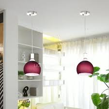 Purple Pendant Light Mini Pendant Lights 0 39w Purple Shade