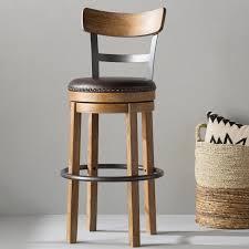 bar stools that swivel trent austin design empire swivel bar stool reviews wayfair
