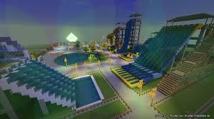 minecraft sports stadium aquatic park 2 minecraft map android apps on google play
