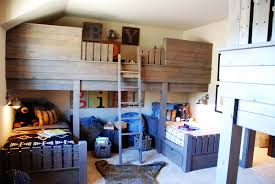 Bunk Bed For Small Room Bunk Bed For Small Room Custom Inspiration Picture Of Awesome