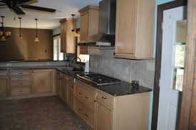 Duraceramic Floors Maple Cabinets Baltic Brown Granite With Tile - Baltic brown backsplash