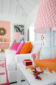 Orange And White Bedroom Pink And Orange Living Room Design Ideas U0026 Pictures