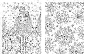 christmas colouring adults free printable coloring pages