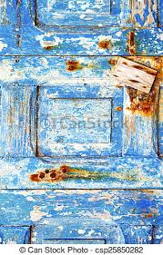 pictures of blue stripped paint in rusty nail blue stripped