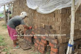 pembuatan batu bata press ekspose lengkap distributor batu