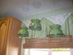 see all of these 3 colander light fixtures some to build some to