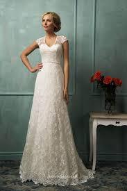 Lace Wedding Dresses Download A Line Lace Wedding Dress Wedding Corners