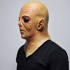 latex full face mask picture more detailed picture about alien