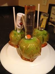 drunk candy apples great for halloween part favorite