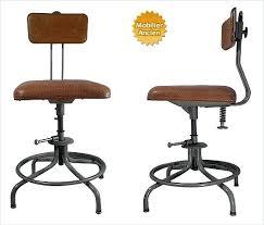 chaise de bureau style industriel chaise bureau industriel fauteuil bureau industriel fabulous