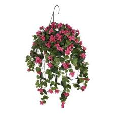 hanging flowers lighted hanging flower basket wayfair