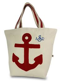 nautical bags anchor tote nautical theme