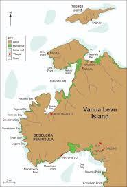 Map Of Fiji Did Sea Level Rise Build Fiji U0027s
