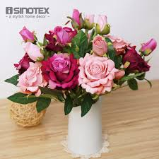 Decorative Flowers For Home by Online Buy Wholesale Birthday Bouquet Flowers From China Birthday