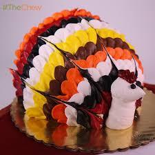 thanksgiving turkey cake by buddy valastro thechew thanks 4