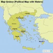 greece map political stepmap maps for greece