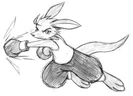 boxing kangaroo by malamiteltd on deviantart