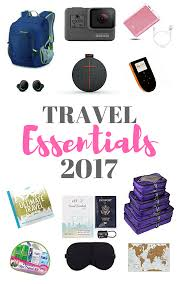 travel items images Essentials travel items for 2017 travel gifts essentials and easy png