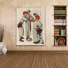 Baseball Home Decor Online Get Cheap Baseball Wall Art Aliexpress Com Alibaba Group