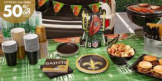 new orleans party supplies nfl new orleans saints party supplies party city