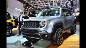 jeep concept 2016 concept cars 2016 jeep renegade hard steel review youtube