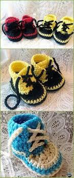 newborn pattern video crochet sneaker slipper booties free patterns paid baby shoes