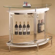 home bar table set modern home bar table sets chrome accent tempered glass shelf