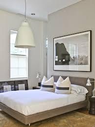 elegant upholstered platform bed in bedroom modern with diy