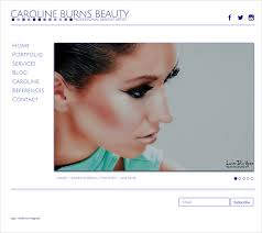 Makeup Artist Websites Beauty U0026 Makeup Artist Website Design Kinetic Knowledge Nj