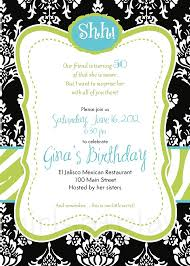 surprise 50th birthday invitations badbrya com