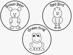 brown bear puppet template pdf google drive therapy ideas