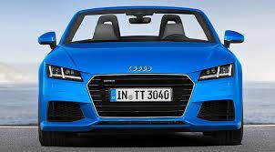audi tt electric audi tt roadster unveiled 2015 it s the convertible tt by car