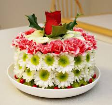 birthday cake with beautiful flowers image inspiration of cake