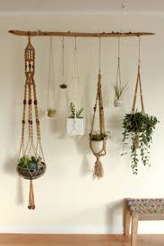 modern hanging planters winsome diy hanging planters 130 diy wall hanging planters 17446