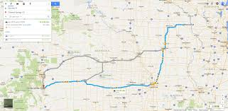 road map of iowa usa usa how bad is the road work on i 80 between iowa and colorado