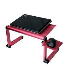 Laptop Folding Desk by 1 Red Mousepad Attachable To Aluminum Folding Portable Laptop