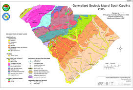 map of sc general geology of south carolina