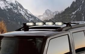 Light Rack Mopar Oem Jeep Commander Roof Mount Off Road Light Bar With Lights