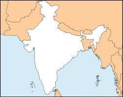 india map outline high resolution map of india with states