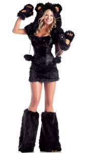 Halloween Costumes Teddy Bear Black Bear Beauty Costume Bear Costume Women Furry