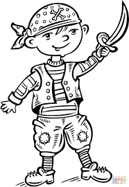 pirate ship coloring sheets sheet of for kids fairy