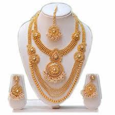 white gold necklace set images Necklace pendants for women bridal jewellery sets online JPG