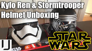 target force friday black series star wars kylo ren u0026 storm trooper helmet unboxing review youtube