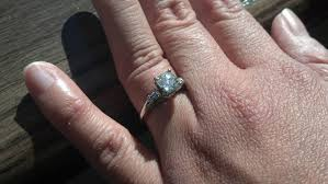 1 Carat Cushion Cut Engagement Ring Show Me Your Cushion Cut Weddingbee