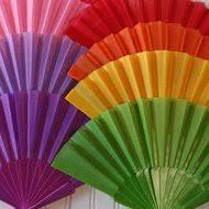 folding fans fans paper silk folding fans for weddings