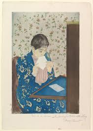 mary cassatt the letter the met