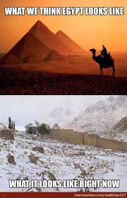 Egyptian Memes - friend from egypt sent me the bottom picture thats st catherine