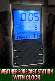 buy digital weather station hygrometer thermometer alarm clock