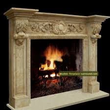 french rococo style oak leaf fireplace mantel decoration