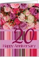 20 year wedding anniversary 20th wedding anniversary cards from greeting card universe